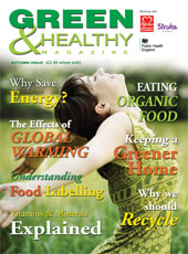 Green & Healthy Magazine cover